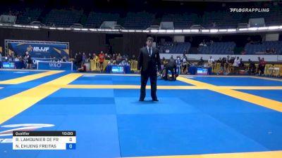 RODRIGO LAMOUNIER DE FREITAS vs NATAN CHUENG FREITAS 2019 World IBJJF Jiu-Jitsu No-Gi Championship