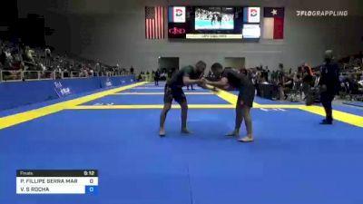 PEDRO FILLIPE SERRA MARINHO vs VAGNER S ROCHA 2021 World IBJJF Jiu-Jitsu No-Gi Championship