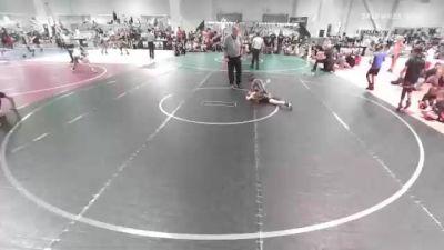 82 lbs Rr Rnd 2 - Jayshaun Lewis, Supreme Punishers vs Jacob Dominguez, Aggression