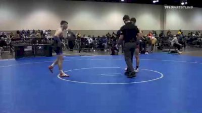 57 kg Consolation - Timothy Levine, Unattached vs Kyle Burwick, Wisconsin RTC