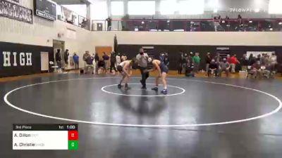145 lbs 3rd Place - Ayden Dillon, Littlestown vs Andrew Christie, Bishop McDevitt