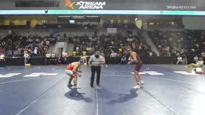 184 lbs Semifinal - Nick Rogge, Augsburg University vs Paul Detwiler, United State Coast Guard Academy