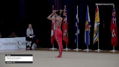 Pauline Krivchun - Clubs, Gymnastics Canada
