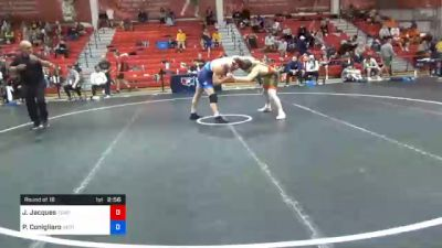74 kg Prelims - Jarrett Jacques, Tiger Style Wrestling Club vs Philip Conigliaro, New England Regional Training Center