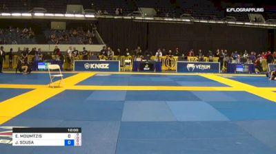 EVANGELOS MOUMTZIS vs JACKSON SOUSA 2018 World IBJJF Jiu-Jitsu No-Gi Championship