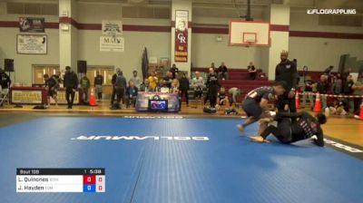 Luis Quinones vs Jason Hayden 1st ADCC North American Trials