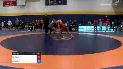67 kg Round Of 32 - Hayden Tuma, Idaho vs Jaylen York, River Valley Wrestling Club
