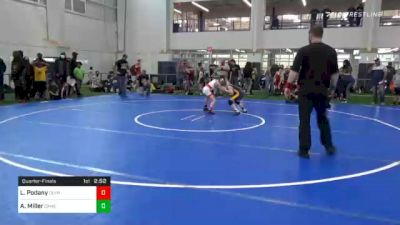 Quarterfinal - Logan Podany, Olympic vs Austin Miller, Cameron