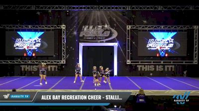 Alex Bay Recreation Cheer - Stallions White Fillies [2021 L1 Traditional Recreation - 8 and Younger (NON) - NB Day 1] 2021 The U.S. Finals: Ocean City