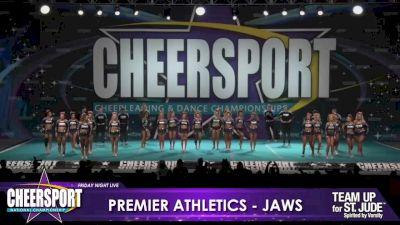 Premier Athletics Knoxville - Jaws [2020 L6 Senior Medium Coed Day 1] 2020 CHEERSPORT Nationals: Friday Night Live