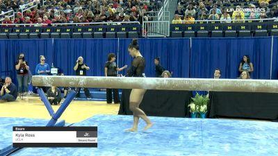 Kyla Ross - Beam, UCLA - 2019 NCAA Gymnastics Ann Arbor Regional Championship