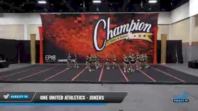 One United Athletics - Jokers [2021 L3 Senior] 2021 Wolfpack Championship