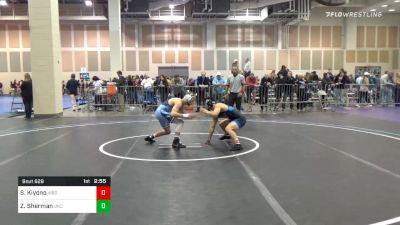 Quarterfinal - Scotty Kiyono, Virginia-UN vs Zach Sherman, North Carolina