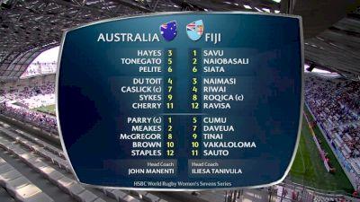 Australia vs Fiji- HSBC World Women's 7s Series (Paris)