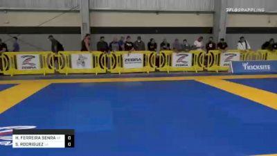 HECTOR FERREIRA SENRA vs SEBASTIAN RODRIGUEZ 2020 American National IBJJF Jiu-Jitsu Championship
