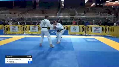JASON DONALD BRIGHT vs PITER FRANK 2020 Pan Jiu-Jitsu IBJJF Championship