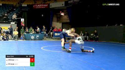 149 lbs Consi Of 8 #2 - Jonathan Millner, App St vs Jared Prince, Navy