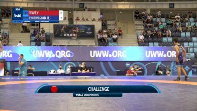 51 kg 1/2 Final - Yurii Tovt, Ukraine vs Hayk Lyudvigyan, Armenia
