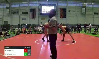 195 lbs Final - Asher Rutchi, Salem Elite vs Cyrus Wheeler, Rooster Savage Black