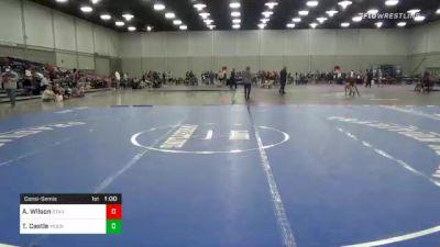 175 lbs Consolation - Alex Wilson, Standfast Wrestling vs Theron Castle, Moen Wrestling Academy