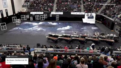 Burleson Centennial HS at 2020 WGI Perc/Winds Dallas Regional