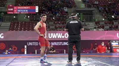 74 kg Tajmuraz Salkazanov, SVK vs Marc Dietsche, SUI