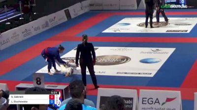Serena Gabrielli vs Livia Gluchowska 2018 Abu Dhabi World Professional Jiu-Jitsu Championship