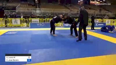 Garrett Lewis Mcnamara vs Carlos Jose Reveron Torres 2020 World Master IBJJF Jiu-Jitsu Championship