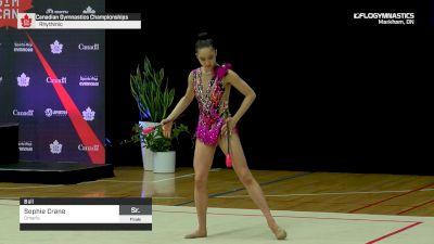 Sophie Crane - Ball, Ontario - 2019 Canadian Gymnastics Championships - Rhythmic