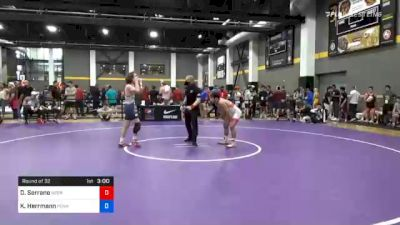 61 kg Prelims - Dominick Serrano, Nebraska Wrestling Training Center vs Kenny Herrmann, Pennsylvania