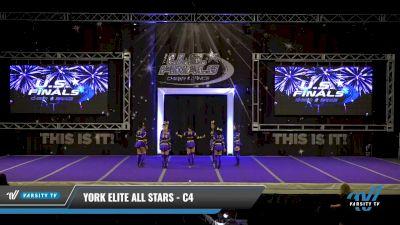 York Elite All Stars - C4 [2021 L4 Junior - D2 Day 2] 2021 The U.S. Finals: Ocean City