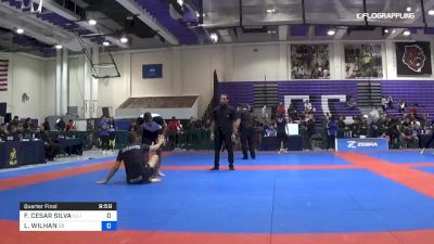 FELIPE CESAR SILVA vs LUCAS WILHAN 2019 Pan IBJJF Jiu-Jitsu No-Gi Championship