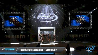 Revolt Cheerleading - Symphony [2021 L1.1 Mini - PREP - D2 - A Day 1] 2021 The U.S. Finals: Louisville