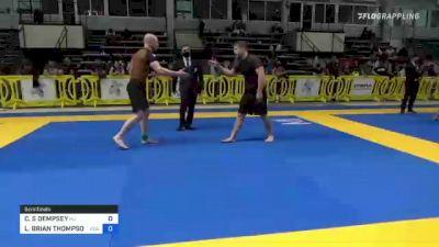 CHRISTOPHER S DEMPSEY vs LANCE BRIAN THOMPSON 2021 Pan IBJJF Jiu-Jitsu No-Gi Championship