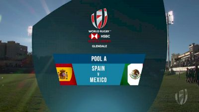 Spain 7s vs Mexico 7s Pool A | 2018 HSBC Women's 7s Colorado