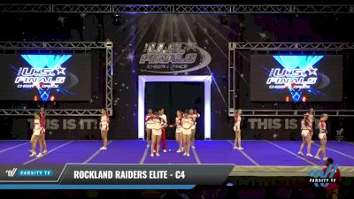 Rockland Raiders Elite - C4 [2021 L4 Performance Recreation - 8-18 Years Old (NON) - Small Day 1] 2021 The U.S. Finals: Ocean City