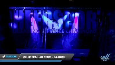 Cheer Craze All Stars - C4-Fierce [2018 Senior Coed Small 4 D2 Day 2] CHEERSPORT- National Cheerleading Championship