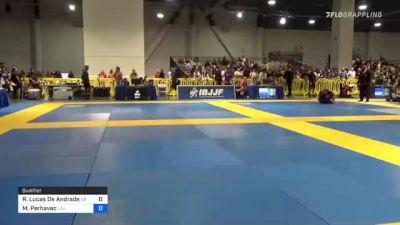 Romulado Lucas De Andrade vs Miha Perhavec 2021 American National IBJJF Jiu-Jitsu Championship