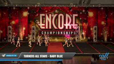 Turners All Stars - Baby Blue [2021 L1 Tiny - D2 Day 2] 2021 Encore Championships: Pittsburgh Area DI & DII