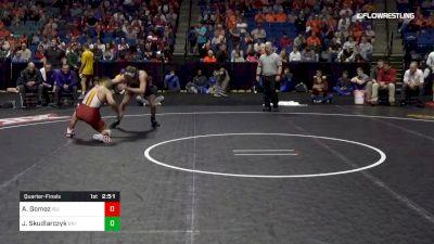 133 lbs Quarterfinal - Austin Gomez, Iowa State vs Jack Skudlarczyk, Northern Iowa