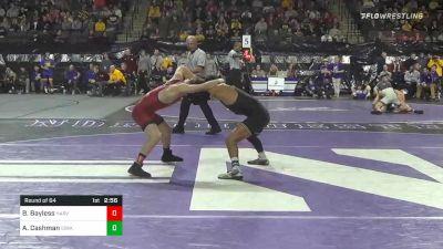 125 lbs Prelims - Beau Bayless, Harvard vs Aaron Cashman, Iowa