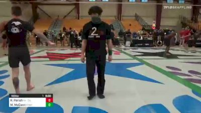 Robert Parish vs Michael McCann 2020 Colorado State Championships