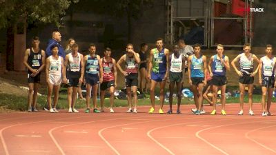 Men's 1500m, Heat 1 - Four Men Go Sub-3:38!