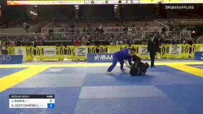 JORGE AMAYA vs ALEXANDER SCOT CAMPBELL 2021 Pan Jiu-Jitsu IBJJF Championship
