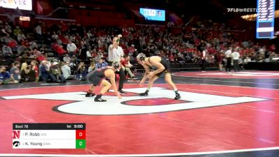 157 lbs Quarterfinal - Peyton Robb, Nebraska vs Kaleb Young, Iowa