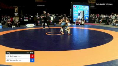 61 kg Rnd Of 16 - Daniel DeShazer, Gopher Wrestling Club - RTC vs Nathan Tomasello, Titan Mercury Wrestling Club