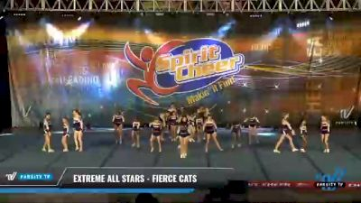 Extreme All Stars - Fierce Cats [2021 L2 Junior - D2 - Medium Day 2] 2021 South Florida DI & DII Nationals