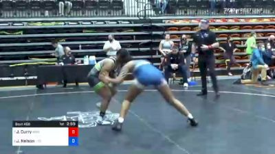 170 lbs Quarterfinal - Jennifer Curry, Baker vs Jordan Nelson, Life
