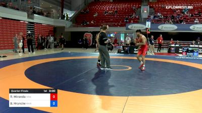 60 lbs Quarterfinal - Randon Miranda, New York Athletic Club vs Bruce Hrynciw, Marines