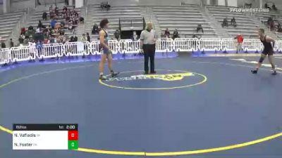 152 lbs Prelims - Nicholas Vafiadis, VA vs Nick Foster, PA